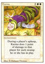Magic: The Gathering 3rd Edition - Karma - $0.99