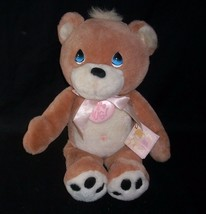 "15"" ENESCO 1997 HAVE A HUG BROWN BABY TEDDY BEAR STUFFED ANIMAL PLUSH TO... - $21.74"