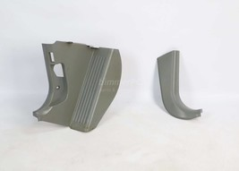 BMW E39 5-Series Gray Kick Panels Pedal Footrest Trims Side Covers 1997-2003 OEM - $74.25
