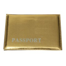 Men Women Passport Holder ID & Document Synthetic Leather Nice Gifts Travel - $5.00