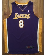 Authentic Nike 2003 Los Angeles Lakers Kobe Bryant Away Road Purple Jers... - $349.99