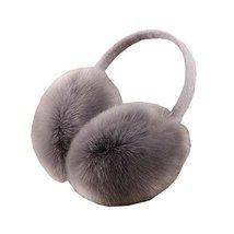 Winter Fashion Adjustable EarMuffs, Ear Warmers, for Womens Girls (Gary) - $12.18