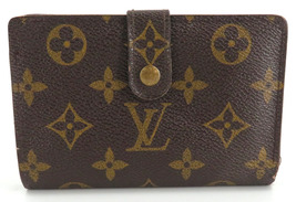Auth LOUIS VUITTON Monogram Portefeuille Viennois Bi-fold Wallet M61674 ... - $120.00
