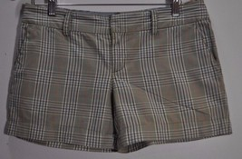 American Eagle Outfitters Women's Size 6 Short Plaid Casual Multicolor Pant - $3.95