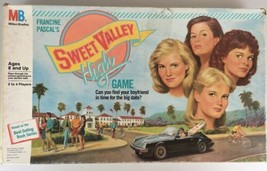 Sweet Valley High Board Game Vintage Milton Bradley 1988 Francine Pascal... - $29.65