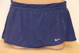 New Nike Swimsuit Bikini Skirted Bottom Skirt Navy Size 14 - $13.54