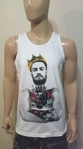 Conor Notorious McGregor King  White - Tank Top  - Irish Pride  MMA - $17.99+