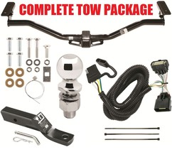 2011-2019 Ford Explorer Complete Trailer Hitch Receiver Tow Package ~ No Drill - $205.18