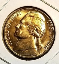 1976 Uncirculated Jefferson nickel  - $4.00