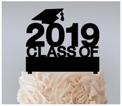 Decorations Cake topper,Cupcake topper,graduates class of 2019 Package : 11 pcs - $20.00