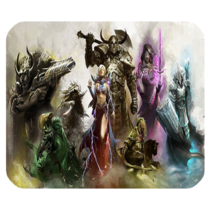 Mouse Pad Guild Wars 2 Popular Online Role Playing Game Anime Battle Fan... - €5,33 EUR