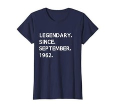 Legendary Since September 1962 - Virgo Zodiac T-Shirt Women - $17.85+