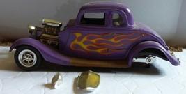 Revell 1932 Ford Coupe Street Rod Custom Plastic Model Car Junkyard Lot ... - $18.51