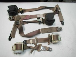 FULL SET OF SEAT BELTS  00 Mitsubishi Eclipse Bucket - $57.13
