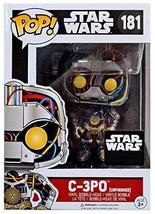 C-3PO Funko POP! Vinyl Bobble Head Unfinished Figurine 181 Star Wars Exc... - $23.45