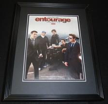 Entourage HBO 2010 Framed 11x14 ORIGINAL Advertisement Jeremy Piven - $32.36