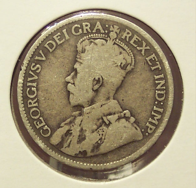 Primary image for KM#17 1917-C Silver Newfoundland Quarter #0041