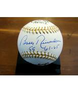 BOBBY RICHARDSON GOLD GLOVE 61-65 1961 WSC YANKEES AUTO GG OML BASEBALL JSA GEM - $118.79
