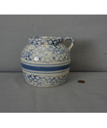 Prestige Place Japan BLUE SPONGEWARE Bean Pot with Lid - $24.95