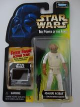 1997 Star Wars POTF Admiral Ackbar Freeze Frame Action Slide Action Figure - $15.00