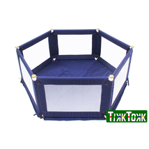 TIKK TOKK POKANO Fabric Playpen - Hexaganol - Blue - $181.87