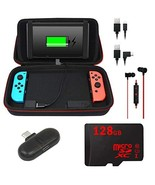 Deco Gear 10000mAH Charging Case for Nintendo Switch with 128GB Audio Es... - $109.91