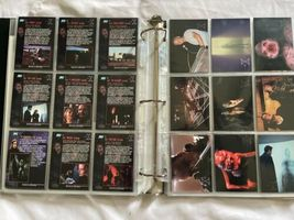 The X-Files Trading Card Lot Binder Press Photo Gillian Anderson David Duchovny image 12