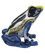 Poison Dart Frog Jeweled Trinket Box with SWAROVSKI Crystals - €34,79 EUR