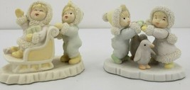 "Ks Collection Christmas Figures 3.5"" Sled Penguin Snow - $18.66"