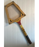 Vintage wood tennis racket racquet Wilson Comet Don Budge In Wood Holder! - $24.38