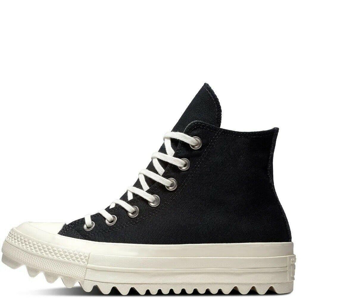 Women's Converse Chuck Taylor All Star Lift Ripple Hi, 561671C Multi Sizes Black image 6