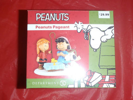 Department 56 Peanuts Pageant - Snoopy, Charlie Brown, Lucy - NIB - $18.80