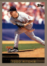 2000 Topps #344 Todd Ritchie Pittsburgh Pirates - $0.99