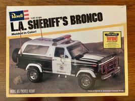 LA Sheriff's Bronco Model Empty Box Only 1980 Revell 7308 - $24.75