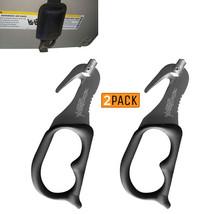2 Pack - Negro Supervizor XT Auto Escape Herramienta Cinturón Seguridad ... - $19.69