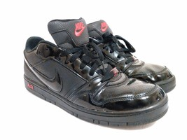 Men's Nike Air Prestige III 3 Shoes Sneakers 386114-006 (Sz:12) Black/Red - $37.12