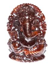 Lord Ganesha In Gomed / Gomed Ganesha - 199.85 Carats - $375.00