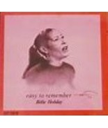 Easy to Remember by Billie Holiday Cd - $12.99