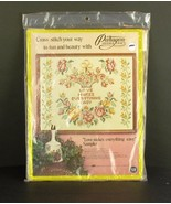 PARAGON Vintage Cross Stitch Embroidery Kit Love Makes Everything Easy NIP - $24.99