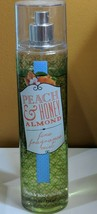 BATH & BODY WORKS PEACH & HONEY ALMOND FINE FRAGRANCE MIST 8oz Read Desc... - $8.50