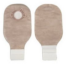 """New Image 2-Piece Drainable Pouch 2-3/4"""" with Filter, Lock N Roll, Beige - 10 Ea - $36.99"""