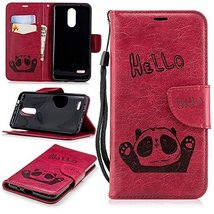 XYX Wallet Phone Case for LG Zone 4,[Card Holder][Wrist Strap][Kickstand... - $8.90