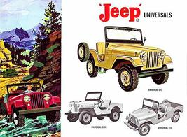 1962 Jeep Universals - CJ Series - Promotional Advertising Poster - $9.99+