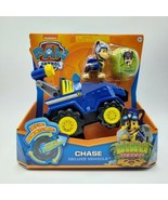 Paw Patrol Dino Rescue Chase Deluxe Vehicle With Figure And Mystery Dino - $11.88