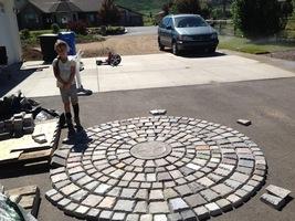 "15 Keystone Paver Molds Make 1000s Of Concrete Cobblestone Pavers 6x5x3x1.5"" image 6"