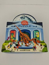 Crocodile Creek Puzzle Day at the Museum 48 Piece Dinosaurs Eco Friendly - $39.59