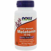 Now Foods Extra Strength Melatonin 10 mg, 100 Veg Capsules - $18.99