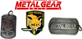 Metal Gear Solid Fox Hound Tactical Espionage Action Pendant Medallion - $14.84