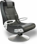 NEW Wireless Video Game Chair Speakers w/ Subwoofer Head Armrest Black P... - $179.99