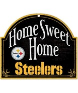 """WinCraft NFL Pittsburgh Steelers 91889010 Wood Arched Sign, 10"""" x 11"""" [F... - $24.99"""